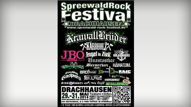 Spreewald-Rock-Festival-Flyer