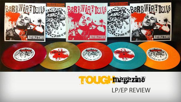 Barb-Wire-Dolls-Rather-Raccoon-Split-7inch-Vinyl-colors