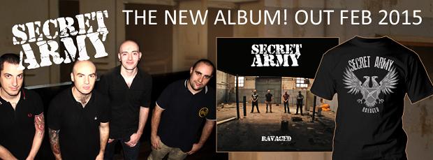 secret-army-neues-album