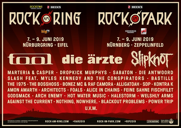 Rock Am Ring Karte.Toughmagazine Vorbericht Rock Am Ring 2019 Tough Magazine